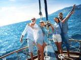 Семейный выходной на яхте